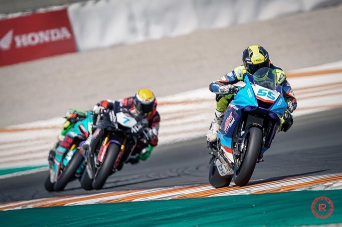 Àlex Toledo al Campionat d'Espanya de Superbikes