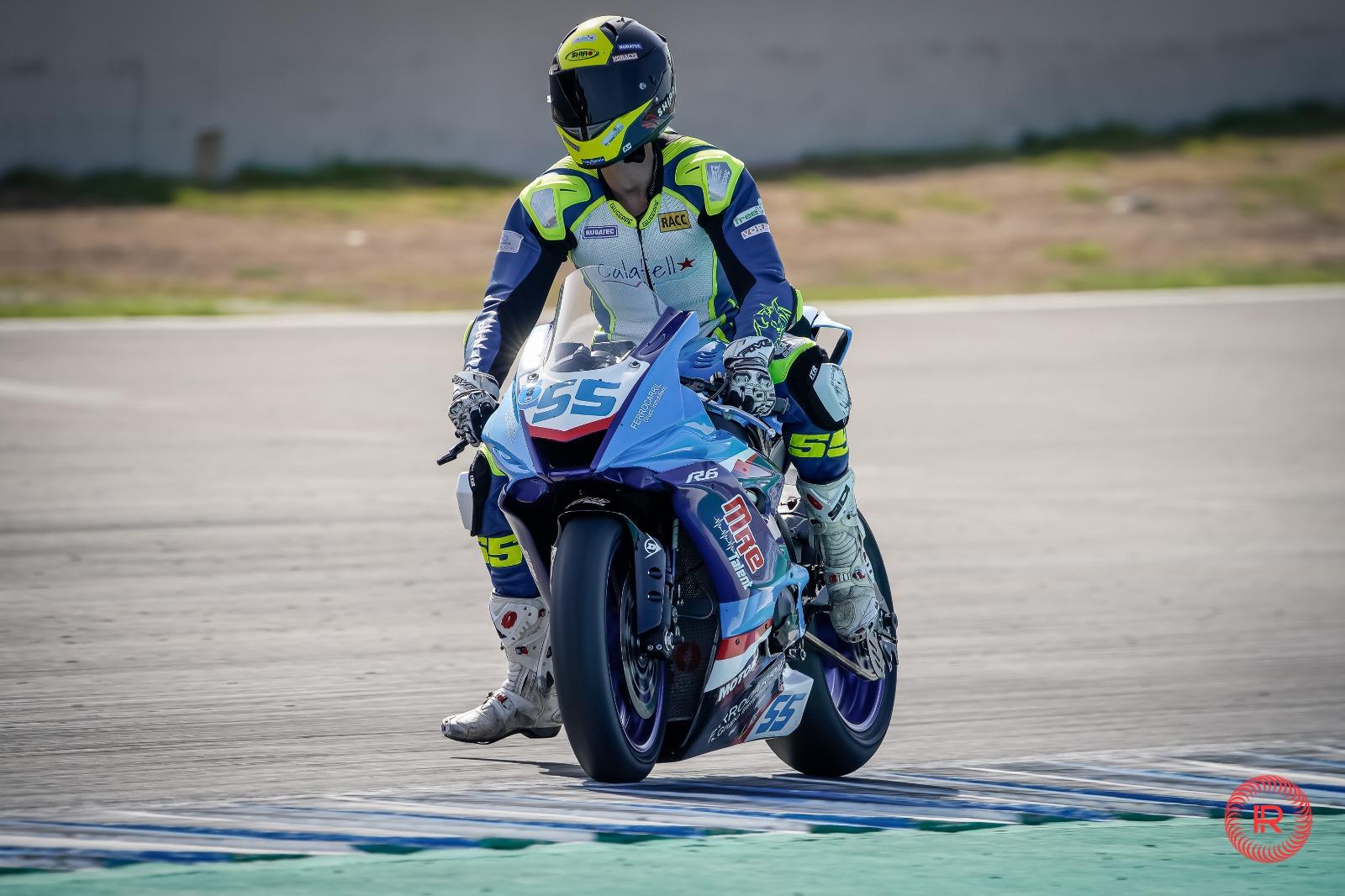 Àlex Toledo al Campionat d'Espanya