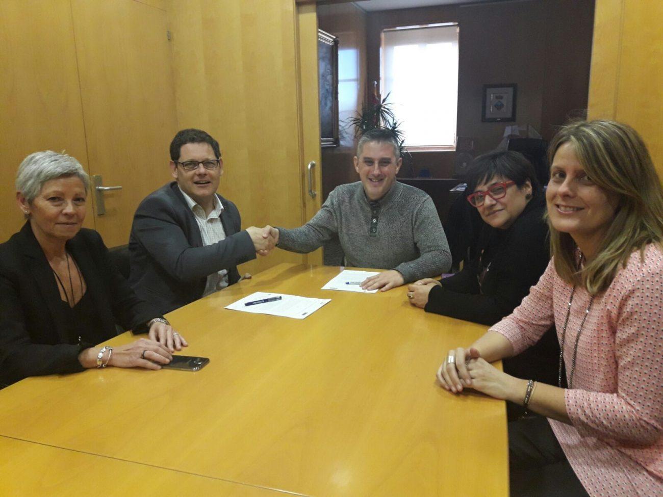 L'Ajuntament i Sorea signa conveni