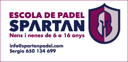 Escola de Padel Spartan, Calafell
